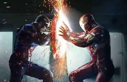 Captain America Civil War Key Art