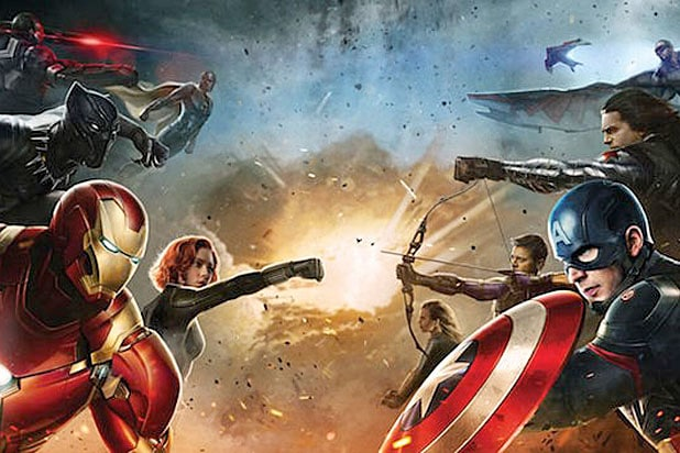 Captain America Civil War Teams