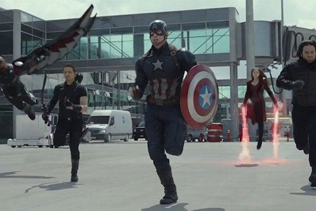 Captain America Civil War Marvel