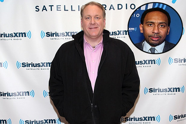 Curt Schilling and Stephen A Smith
