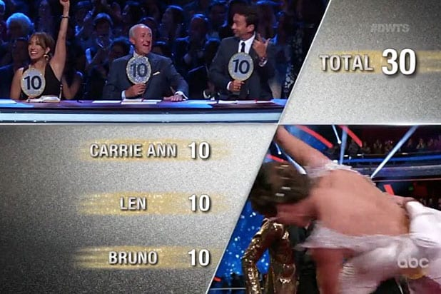Dancing with the Stars Perfect Score