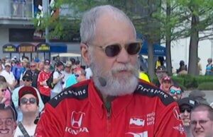 David Letterman Indy 500