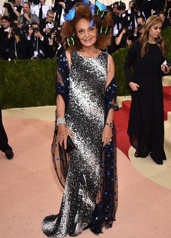Diane von Furstenberg Met Gala
