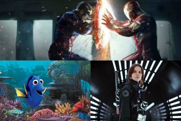 Civil War': Disney Films' Biggest 2016 Challengers Are Other