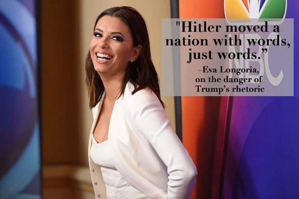 Trump Celebrities Eva Longoria