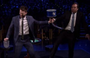Chris Evans Jimmy Fallon Frozen Blackjack