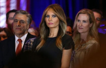 Melania Trump GQ
