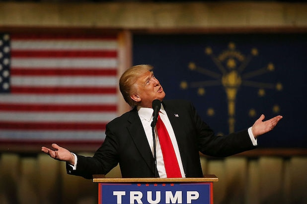 Donald Trump Campaigns In Indiana Ahead Of State Primary