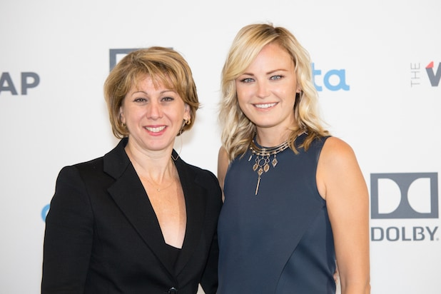 Sharon Waxman Malin Akerman Power Women Breakfast SF