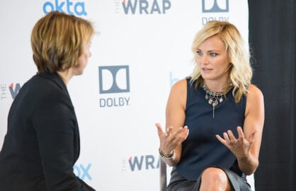 Malin Akerman at Power Women Breakfast