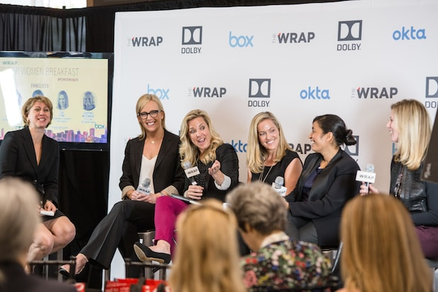 Speakers at TheWrap's Power Women Breakfast