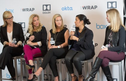 Speakers at TheWrap's Power Women Breakfast SF