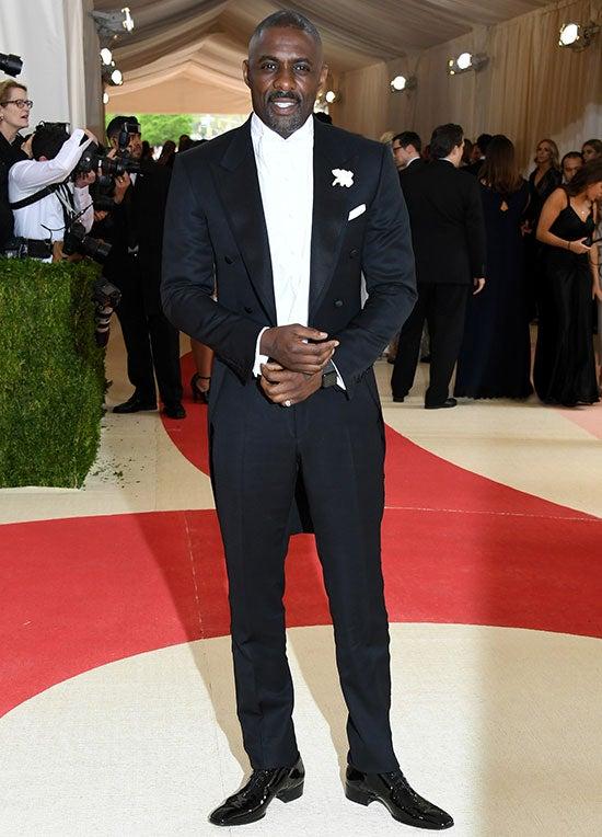 Idris Elba Met Gala