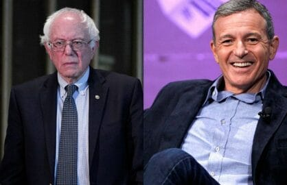 Disney Boss Bob Iger Blasts Bernie Sanders