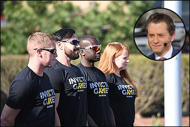 Invictus Games and Jeremy Schaap
