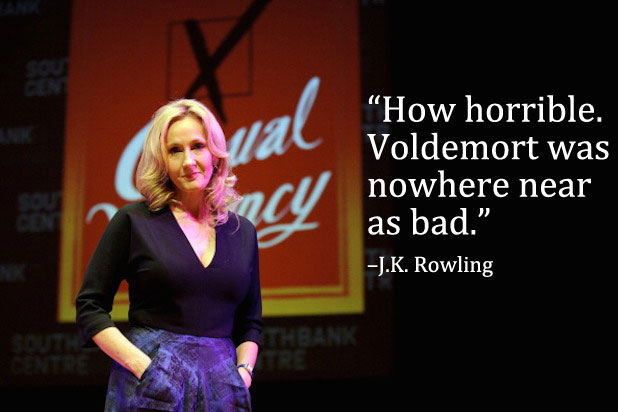 Trump Celebrities JK Rowling