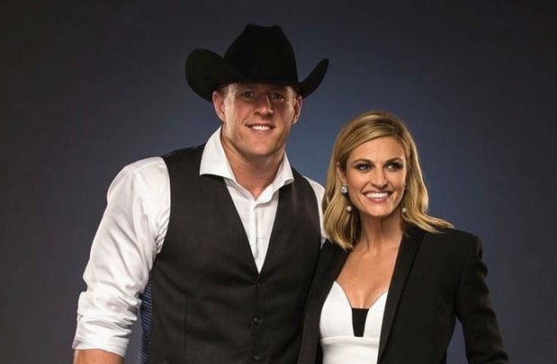 JJ Watt Erin Andrews CMT Awards