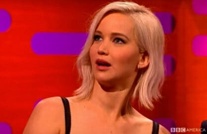 Jennifer Lawrence Harrison Ford encounter