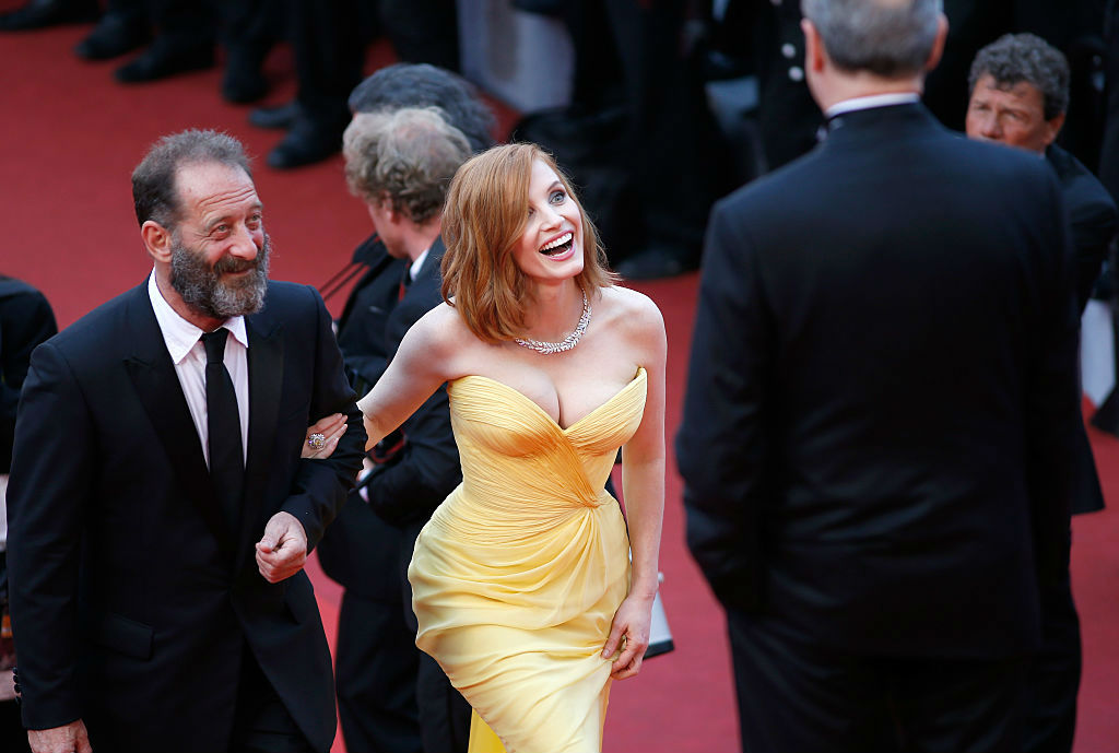 Jessica Chastain Cannes Film Festival