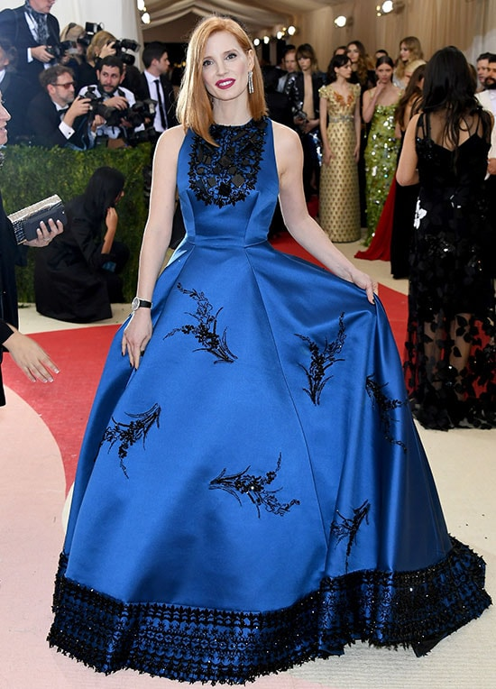 Jessica Chastain Met Gala