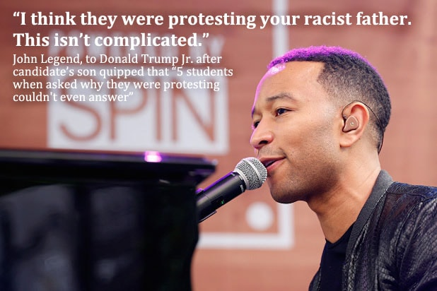 Trump Celebrities John Legend