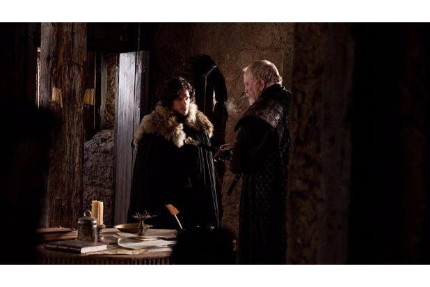 jon snow and mormont