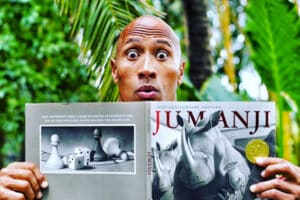 The Rock in Jumanji