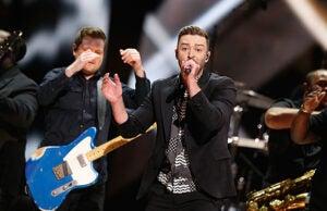 Justin Timberlake Eurovision 2016