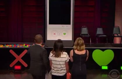 James Corden Live Tinder