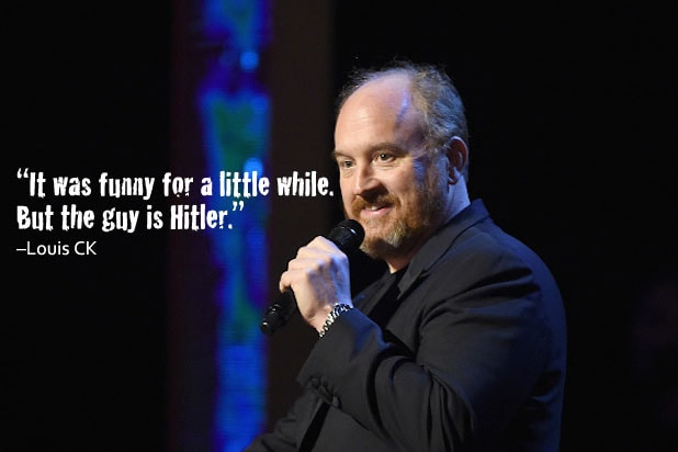 Trump Celebrities Louis CK