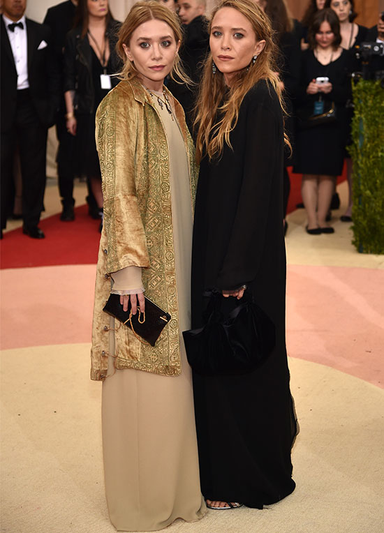 Mary Kate, Ashley Olsen Met Gala