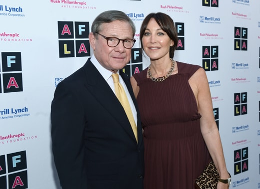 """""""LOS ANGELES, CA - MAY 03: Michael Ovitz and host committee member Tamara Mellon attend Russell Simmons' Rush Philanthropic Arts Foundation's inaugural Art For Life Los Angeles at Private Residence on May 3, 2016 in Los Angeles, California. (Photo by Matt Winkelmeyer/Getty Images for The Rush Philanthropic Art Foundation)"""""""