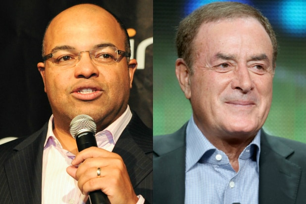 Mike Tirico Al Michaels