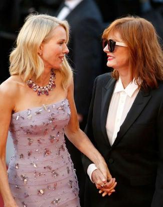 Naomi Watts Susan Sarandon Cannes