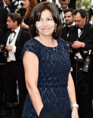 Paris Mayor Anne Hidalgo Cannes