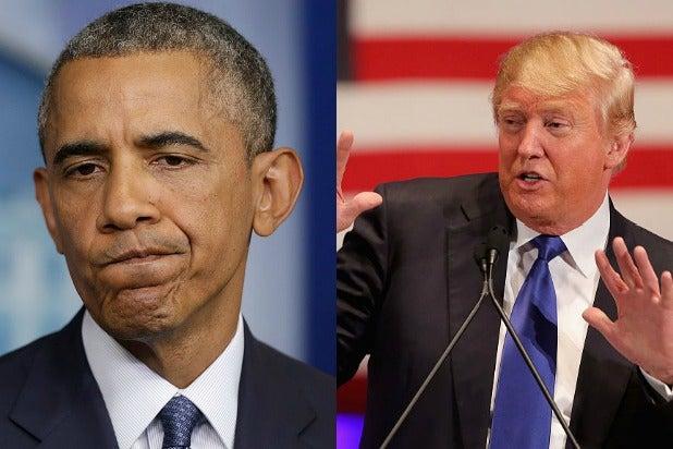 Resultado de imagem para donald trump obama