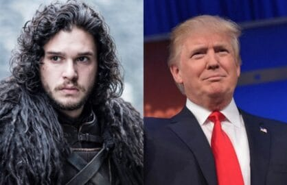 Donald Trump Jon Snow Fox News