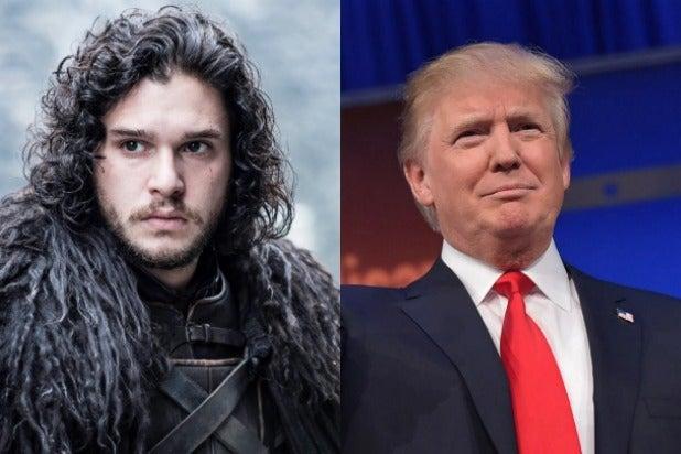 Donald Trump Jon Snow Fox News