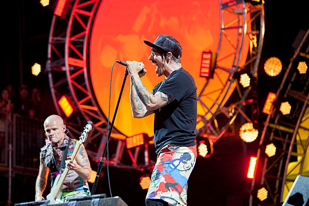 Red Hot Chili Peppers, Florence   the Machine Shake Up BottleRock Festival