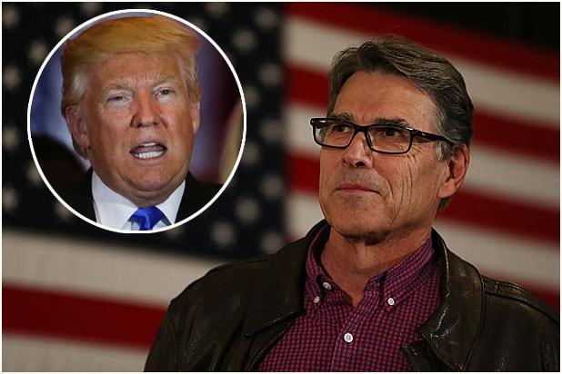 Rick Perry and Donald Trump