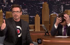 Robert Downey Jr Jimmy Fallon