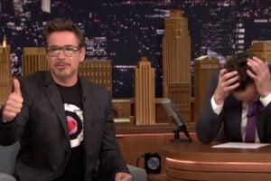 Robert Downey Jr Jimmy Fallon