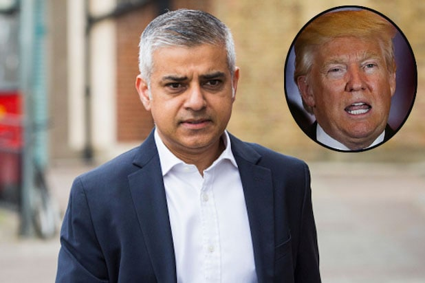 Sadiq Khan and Donald Trump