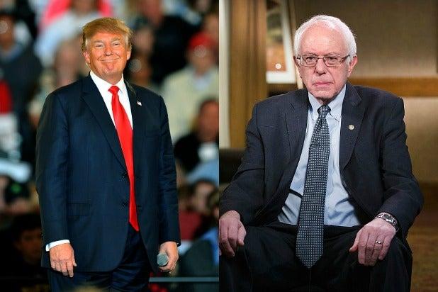 Donald Trump Bernie Sanders Debate Who Benefits the Most Hint It Ain't Bernie