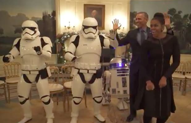 Watch the Obamas Have a 'Star Wars' Dance Party