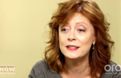 Susan Sarandon Won't Vote for Hillary Clinton Because 'She Could Have Health Issues' (Video)