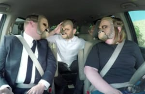 James Corden Chewbacca Mask Lady