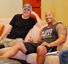 Dwayne The Rock Johnson Shane Black Doc Savage