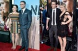 Seth Rogen, Lauren Miller, Chloe Moritz and Brooklyn Beckham at Neighbors 2 premiere