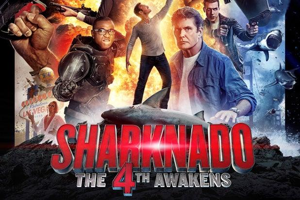 Sharknado 4' Poster, Full Cast List — Is April Alive?, More ...